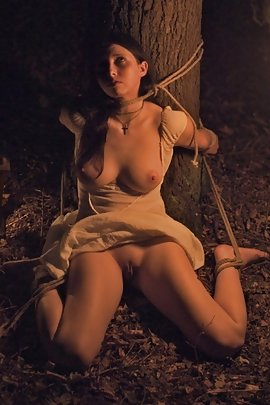 Teen naked and tied up quickly